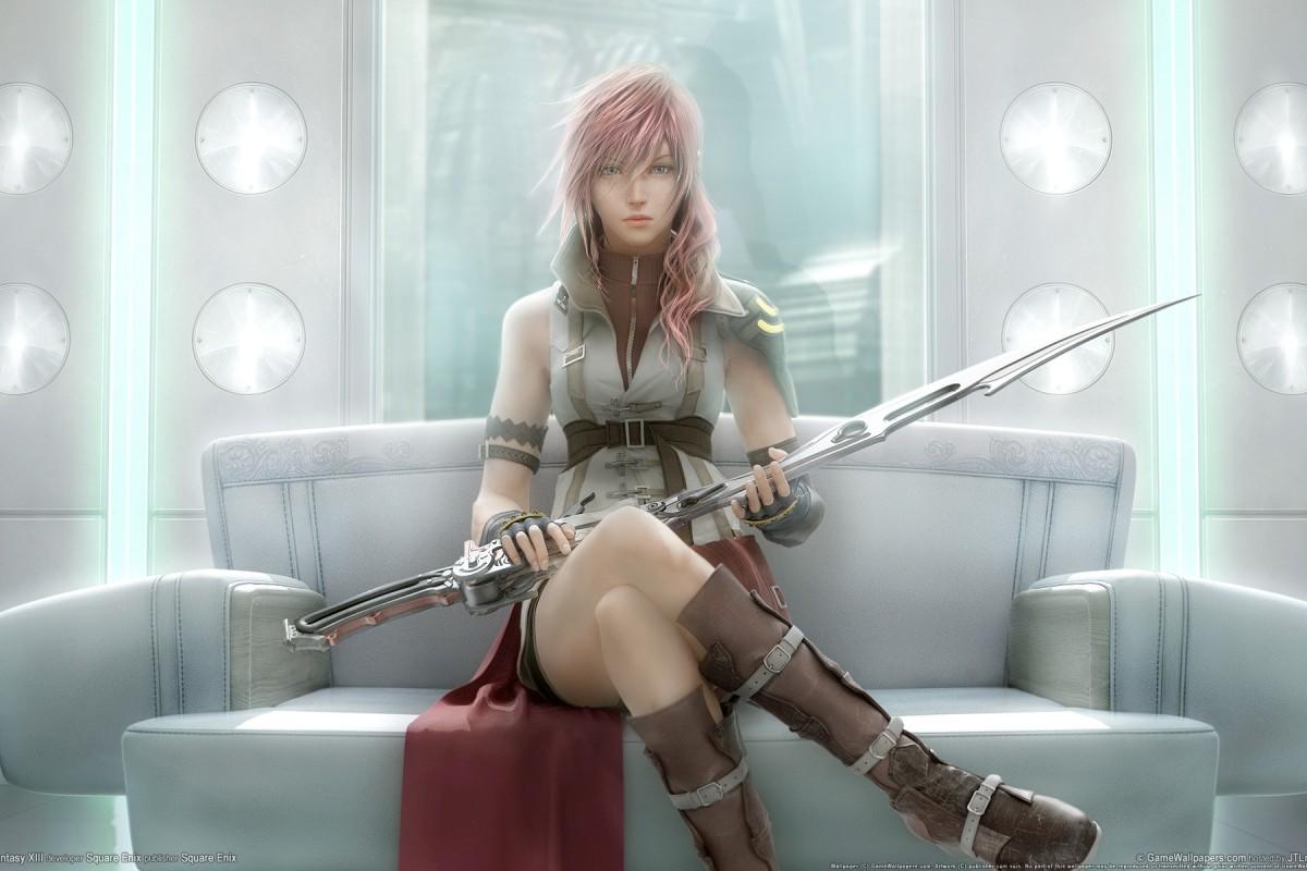Wallpaper HD de Lightning Final Fantasy XIII