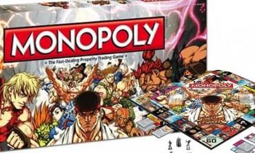 Versión especial de Monopoly alusivo a Street Fighter