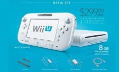 Precios oficiales y fecha de lanzamiento del Wii U, la nueva consola de Nintendo