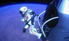 Revelado el primer video de la camara del pecho de Felix Baumgartner