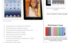 Nueva iPad 3 baja de precio en Liverpool