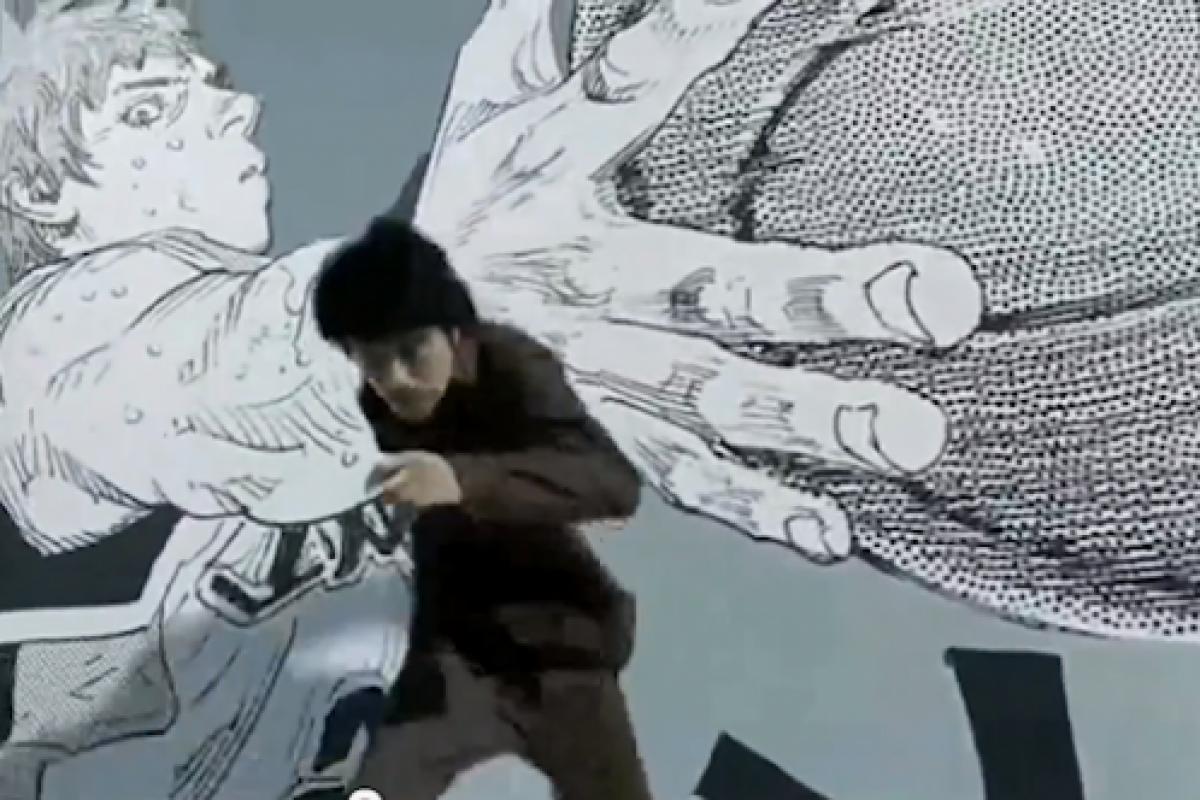 Comercial interesante del manga REAL, el mismo autor de Slam Dunk