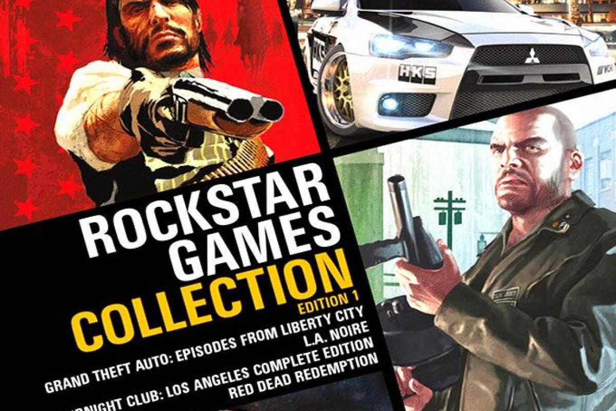 Rockstar anuncia el Rockstar Games Collection Edition 1
