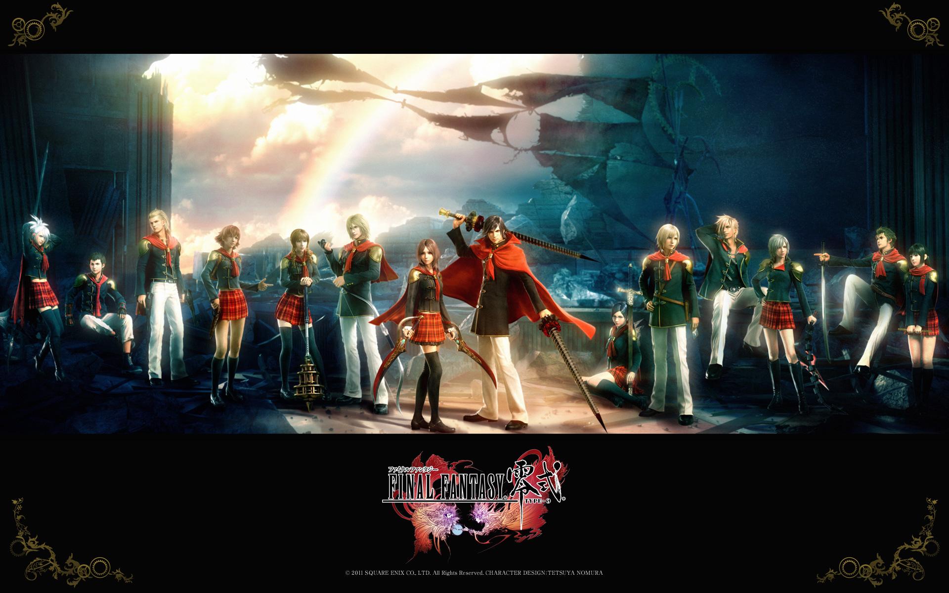Final Fantasy Type 0 En América Multi Anime Noticias