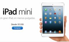 Precios y disponibilidad en noviembre del nuevo iPad Mini en México