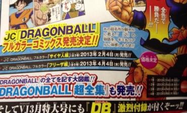 Nuevo manga a colores de Dragon Ball