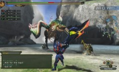 Una probadita de Monster Hunter