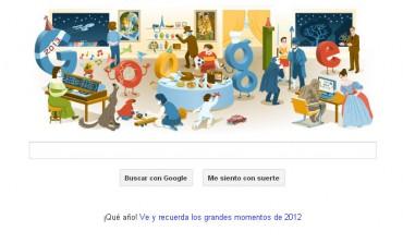 Google Doodle de Fin de Año 2012