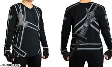 Ponte la playera e imita a Kirito de Sword Art Online