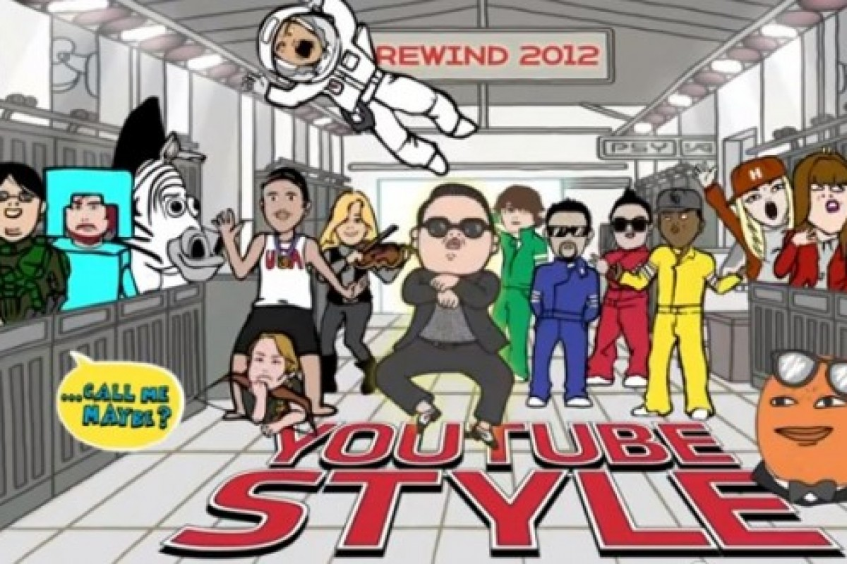 Rewind YouTube Syle 2012